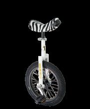 QU-AX Luxus Einrad 16 Zoll - weiss, das Kindereinrad