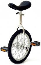 Vitelli Einrad 16 Zoll - das Kleine - chrom