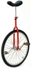 Vitelli Einrad 26 Zoll - für Schnellfahrer - rot
